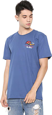 Von Dutch Camiseta Von Dutch Los Angeles Azul
