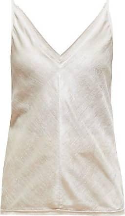 Gabriela Hearst Maria Silk-velvet Cami Top - Womens - Ivory