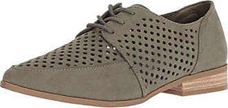 Dr. Scholls Womens Equal Chop Oxford, Willow Green Microfiber, 7.5 M US