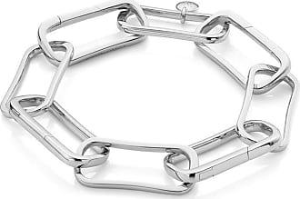 Monica Vinader Alta Capture Large Link Charm bracelet - SILVER