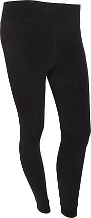 Universal Textiles Womens/Ladies Maximum Heat Plain Thermal Leggings With Soft Lining (1.8 Tog) (Large/X-Large) (Black)