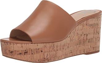 Vince Camuto Womens Gadgen Platform Sandal, Spiced Sand, 5.5 UK