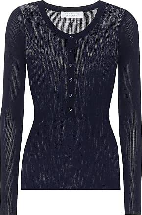 Gabriela Hearst Julian cashmere and silk top