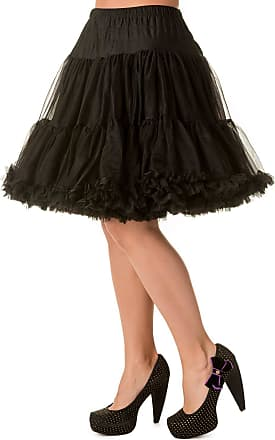 Banned Walkabout 20 inch Petticoat - Va - Black/UK 16-18 / US 12-14 / EU 42-44