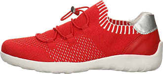 Remonte Womens Low-Top Sneakers Red