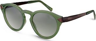 Vivara Óculos de Sol Redondo em Aço e Acetato Verde