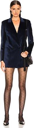 Blazé Milano Oh La La Polka Dot Everyday Double Breasted Blazer in Blue,Black,Polka Dots