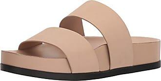 Via Spiga Womens Milton Pool Slide Sandal, Sand Leather, 9 M US