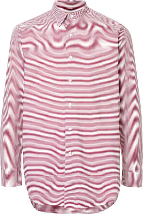 Kent & Curwen striped fitted shirt - Red