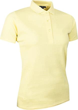 Glenmuir Ladies LSC2241 Cotton Pique Polo Shirt Light Yellow XXL