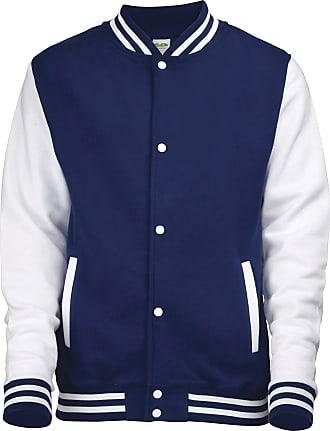 AWDis Hoods Big Boys Varsity Letterman Jacket