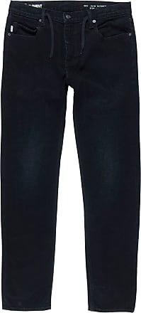 Element E02 Jeans 33W x 32L Black Dark Used