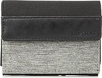 Buxton business card holders sale at usd 799 stylight buxton mens hookes rfid flex three fold grey colourmoves