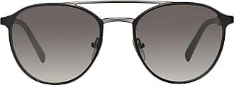 Prada mirrored carbon sunglasses - Preto