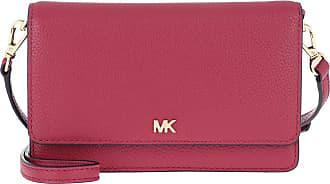 Michael Kors Mott Crossbody Phone Bag Berry Umhängetasche pink