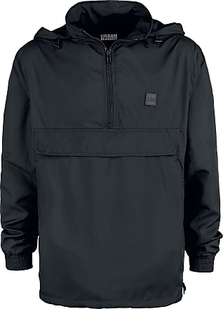 Urban Classics Band Collar Pull Over Windbreaker - Windbreaker - schwarz