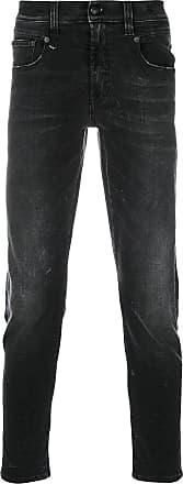 R13 slim-fit jeans - Black