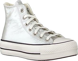 Converse Silberne Converse Sneaker High Chuck Taylor All Star Lift Hi