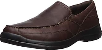 Rockport Mens City Play Two Slip On Oxford, Brown, 6.5 W US