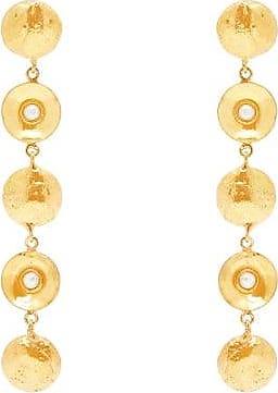 Sylvia Toledano Pearl Disc-charm Drop Earrings - Womens - Pearl