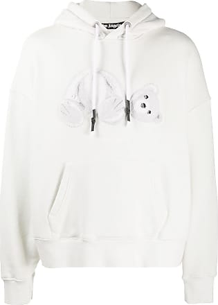 Palm Angels White Ice Bear hoodie