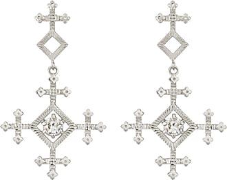 Zoe & Morgan Sura Ohrringe Natural White Zircon Silver - one size | sterling silver | silver | White - Silver/Silver