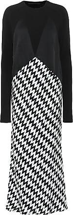 Haider Ackermann Zigzag jersey dress