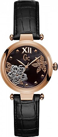 Acotis Limited Gc Watches Gc Pure Chic Ladies Black Mother of Pearl Y31007L2