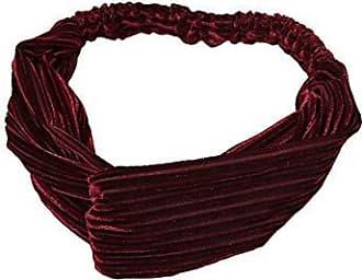 Damen Mode Twist Haarband Stirnband Kopfschmuck Yoga Schweißband Elastisch
