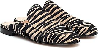 Gianvito Rossi Palau zebra-print suede mules