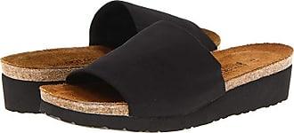 Naot Alana (Black Stretch) Womens Sandals