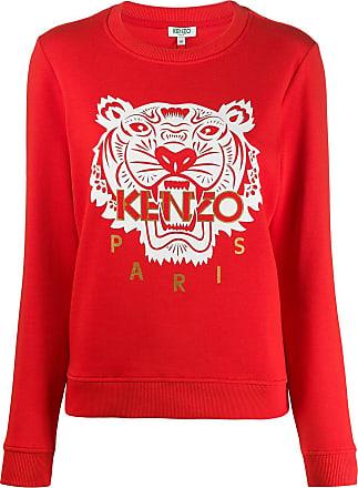 Kenzo Moletom Tiger - Vermelho