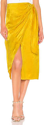 Tularosa Arizona Skirt in Metallic Gold