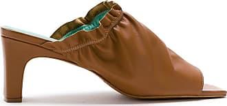 Blue Bird Shoes Mule Berbere de couro - Marrom