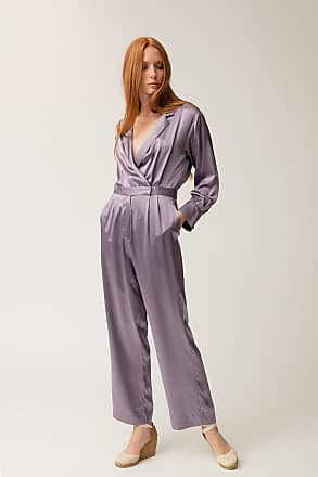 Christine Alcalay Lavender Jumpsuit