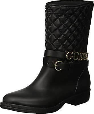 7e8ccb4e9344 Guess Venat, Bottes Hautes Femme, Noir Black, 36 EU