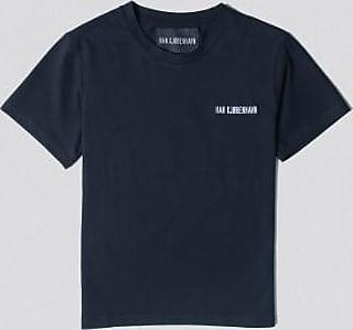 Han Kjobenhavn Schwarzes Logo lässiges T-Shirt - XS