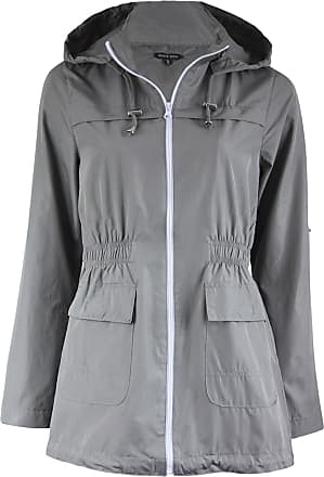 da0227d796d0 Brave Soul LADIES WOMENS GIRLS PLAIN MAC CAGOULE FESTIVAL RAINCOAT WITH  FISHTAIL by LOADED WARDROBE
