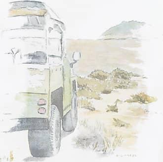 Richards T-SHIRT MASCULINA AQUALERA LAND DESERT - BRANCO