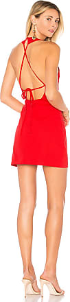 Superdown Diane Shift Dress in Red