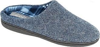 Zedzzz Mens Navy Blue Memory Foam Mule Slipper Sizes Sizes 7 to 12 (12)
