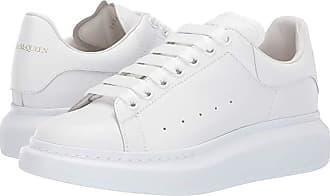 Alexander McQueen Oversized Sneaker (White/Carnation) Mens Shoes