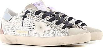Golden Goose Sneaker für Damen, Tennisschuh, Turnschuh Günstig im Sale, Silber, Leder, 2019, 35 36 37 38 39 40