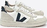 Veja Weißer Nautico V-10 B Mesh Sneaker - 36