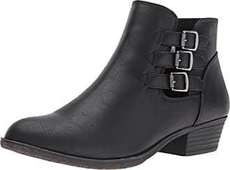 SUGAR Womens Tikki Ankle Bootie, Black, 10 M US