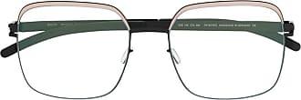Mykita Armação de óculos oversized Meryl - Preto