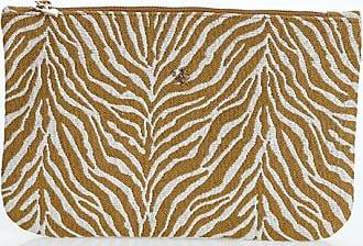 Sugarfree Zebra printed zipped beach pocket