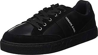 970021fae29da Versace Jeans Couture Scarpe-Uomo, Chaussures de Gymnastique Homme, Noir  (Nero E899