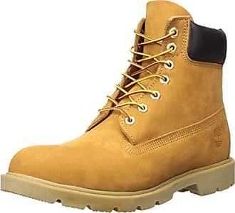 Timberland Mens 6 Basic Contrast Collar Boot, Wheat Nubuck, 8 M US
