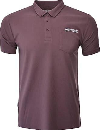 Lambretta Mens Button Down Collar Polo Shirt - Forest - M